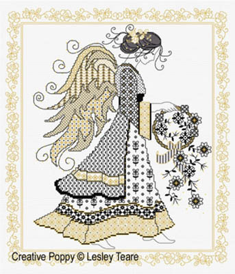 Blackwork Angel